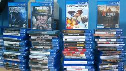 PS4 GAMES HUGE SELECTION & COLLECTION PRE-OWNED NICE CONDITI