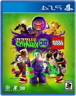 PLAYSTATION 4 PS4 VIDEO GAME LEGO DC SUPER VILLAINS BRAND NE