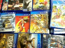 PS4 Video Games Assorted Titles Opened and Unopened ALL New