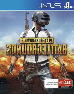 PUBG PS4 Playerunknowns Battlegrounds 100 Player Shooter Gam