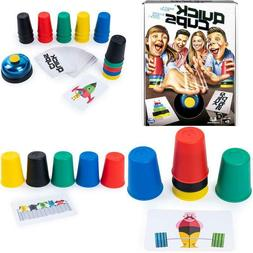 Quick Cups, Match 'N' Stack Family Game For Kids Aged 6
