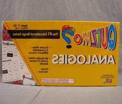 Quizmo Analogies Board Game NEW Sealed Educational Boardgame