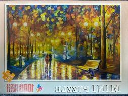 Rainy Night Walk Jigsaw Mini Puzzle Games Adult Kids Toy Shi