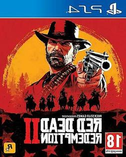 red dead redemption 2 ps4 sony playstation