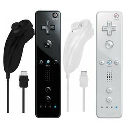 Remote Wiimote Nunchuck Controller Set Combo for Nintendo Wi