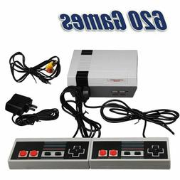 Retro Game Console 620 Built-in Mini Classic NES Games With