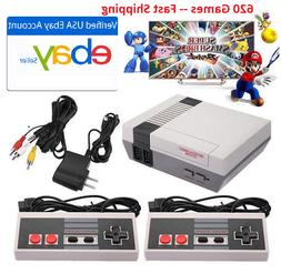 Retro Game Console 620 Classic Games Video Game System Mario