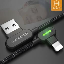 Mcdodo Right Angle Game Cable Sync Chaging Data USB LED Cord