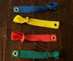 Rooster / Game Bird Nylon Leg Hitch.  Choose Color.  Fast Fr