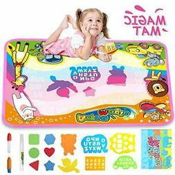 Rug drawing educational games for children from 3 to 8 years