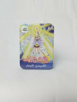 Sailor Moon Playing Cards in Tin Brand New Factory Sealed