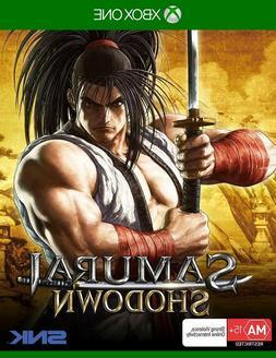 Samurai Shodown Showdown XBOX One Fighting Anime Game Micros