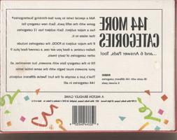 Scattergories Refill #1 by Milton Bradley