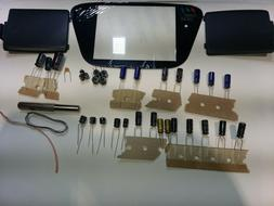 Sega Game Gear Capacitor Kit Covers All Models complete over