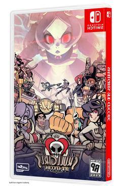 Skull Girls 2nd Encore Physical Game For Nintendo Switch Reg