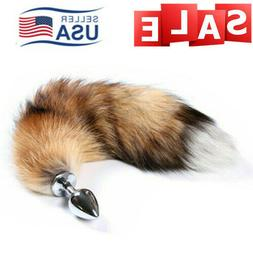 Small Fox Tail Anal-Butt Plug Romance Game Funny Toy Cosplay