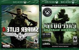 Sniper Elite 4 & Call of Duty 4 Mordern Warfare Xbox One Bot