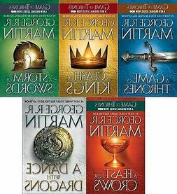 1-5 Books Game of Thrones 📕NOT PAPERBACK📕 E- Book