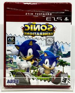 Sonic Generations - PS3 - Brand New | Factory Sealed