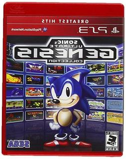 NEW Sonic Genesis Collection PS3