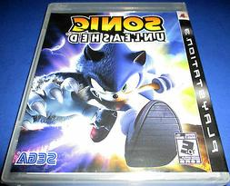 Sonic Unleashed Sony PlayStation 3 - PS3 - *Factory Sealed!