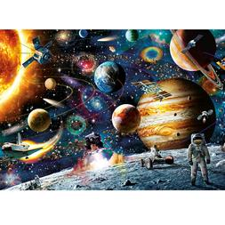 Space Puzzle 1000 Pieces Jigsaw Puzzle for Adults Kids Famil
