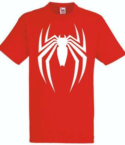Spiderman T-Shirt PS4 Tee Gaming Vest