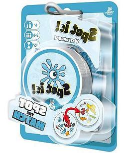 Spot It! Waterproof Blister Pack w/ Bag Family Card Game Asm