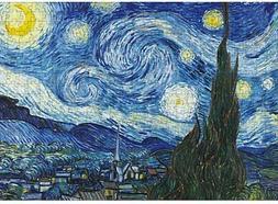 Starry Night Adults Kids Jigsaw Puzzle Assembling Educationa