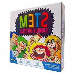 STEM Family Battle - A Family Board Game for Kids and Adults