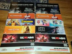 "Store Display Posters 48""×24"" Promotional video game Displa"