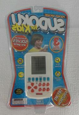 Sudoku For Kids Electronic Hand Held Game New Sudoku Pocket