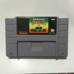 Super mario all stars + world SNES Super Nintendo Video Game