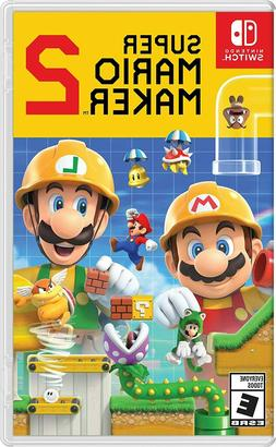 Super Mario Maker 2  Brand New - Sealed