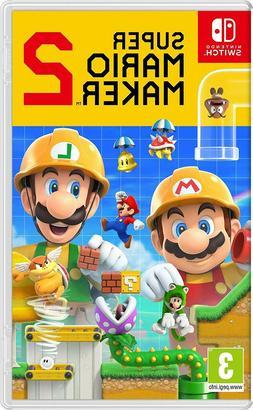 Super Mario Maker 2 - Nintendo Switch NEW
