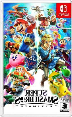 SUPER SMASH BROS. ULTIMATE Nintendo Switch Video Game Brothe