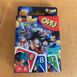 Super DRAGON BALL UNO Card Game Japanese Anime play Goods It