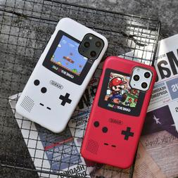 Supermario Game Boy Soft Phone Case Cover For iPhone11Pro XR