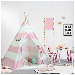 Teepee Kids Play Tent Indoor & Outdoor Play House for Boys &