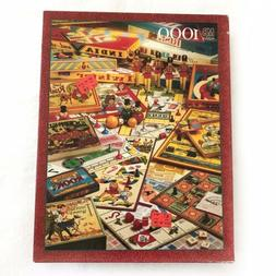 The Games Of Your Life 1000 Piece Puzzle MB Vintage 1995