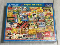The Games We Played 1000 Piece Jigsaw Puzzle Vintage Game Pi