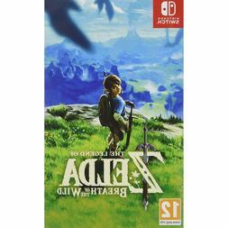 The Legend of Zelda Breath of the Wild Nintendo Switch Brand