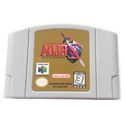 The Legend of Zelda Ocarina of Time *Gold Video Game For Nin