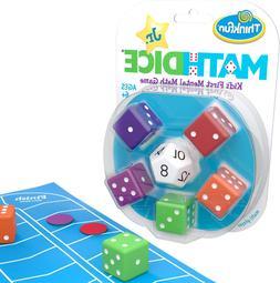 thinkfun math dice junior game for boys