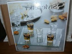 Tic Tac Toe Board with 9 Shot  glasses Stylesetter DRINKING