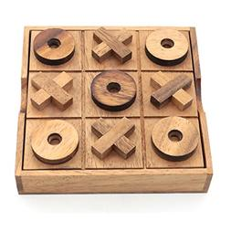 Tic Tac Toe Wood Coffee Tables Family Games Home Decor for L