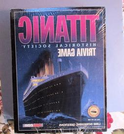 Titanic Historical Society Trivia Game #1912 2-4 players Adu