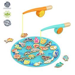TOP BRIGHT Toddler Fishing Game Gifts for 2 3 4 Year Old Gir