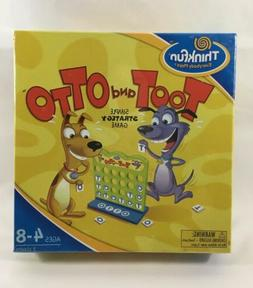 Toot and Otto Connect 4 in a Row Strategy Game | NEW SEALED