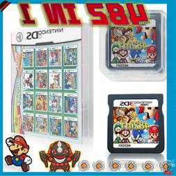TOP 482 in 1 Video Games Cartridge Cards For DS NDS 2DS 3DS